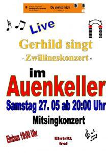 Gerhild singt @ Auenkeller