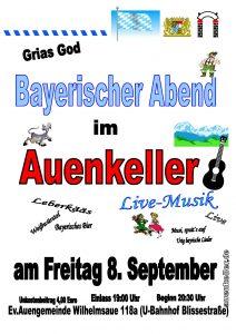 Bayerischer Abend @ Auenkeller