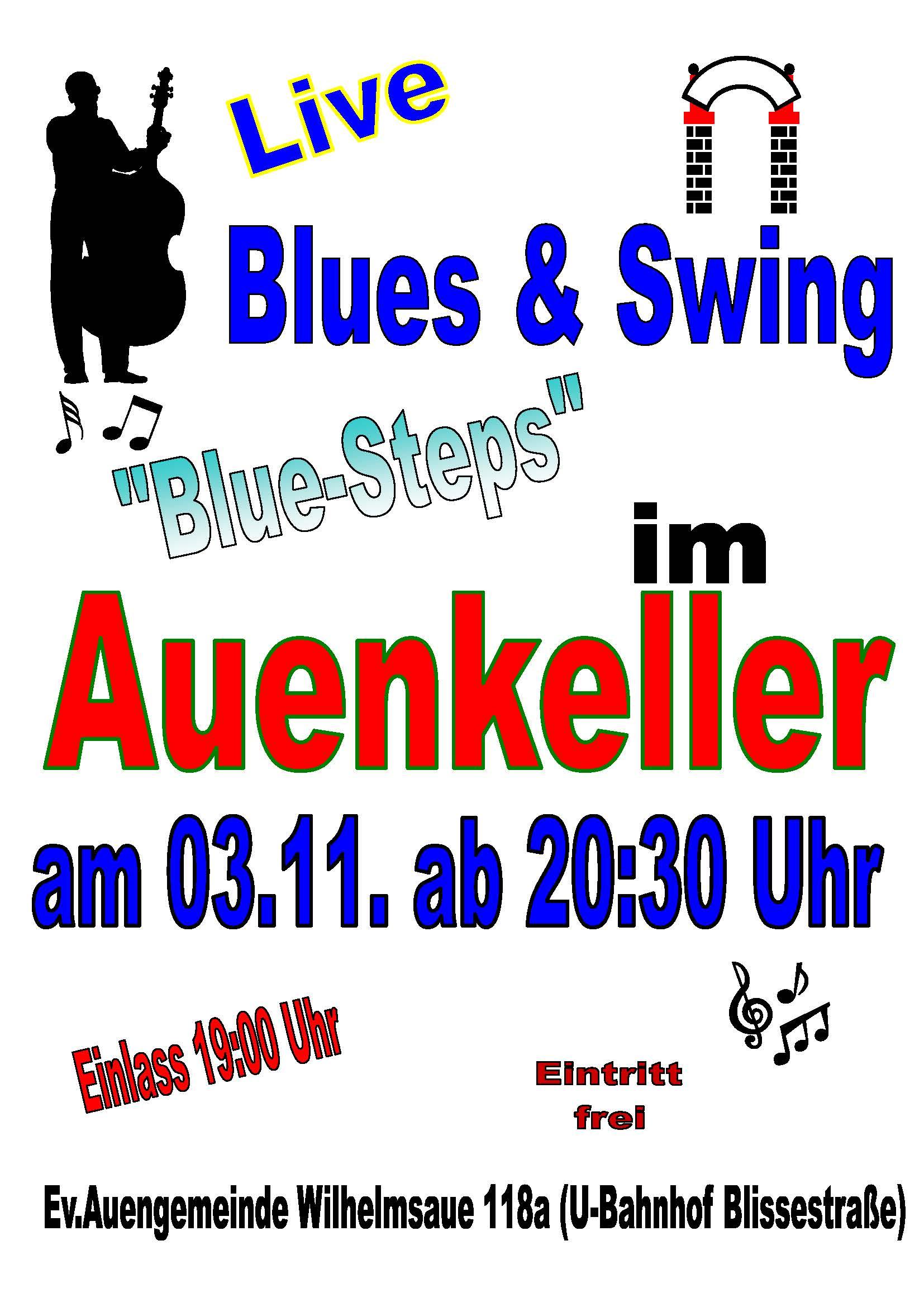Blue Steps To Success: Auenkeller