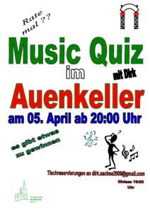 Music-Quiz @ Auenkeller
