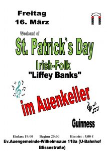 St. Patrick´s Day @ Auenkeller